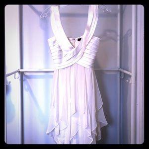 BCBGMAXAZRIA silk dress top
